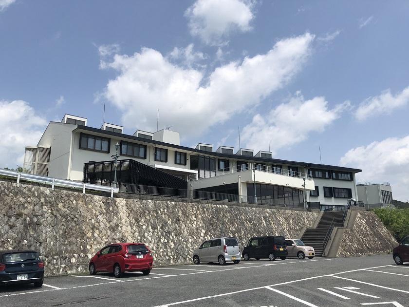 セトレ姫路の駐車場
