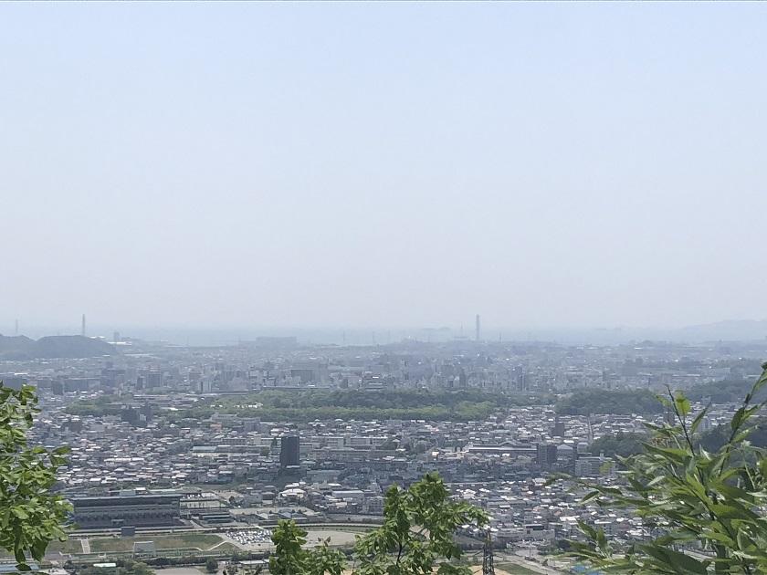 広峰山から望む市街地
