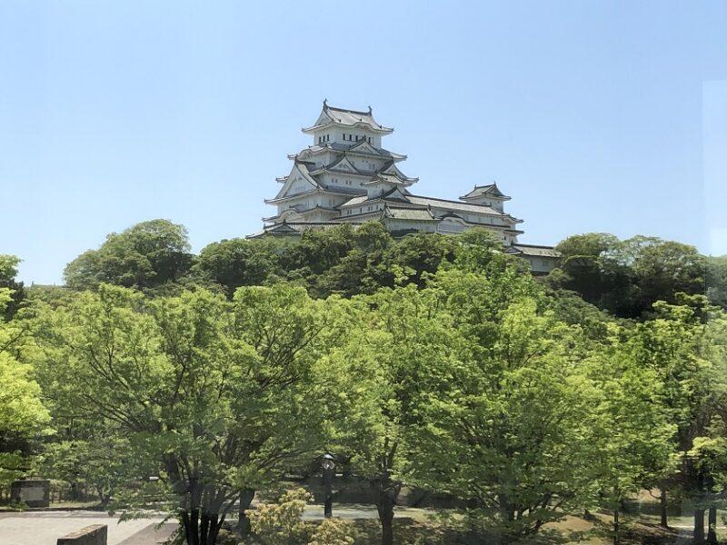 姫路城の天守閣