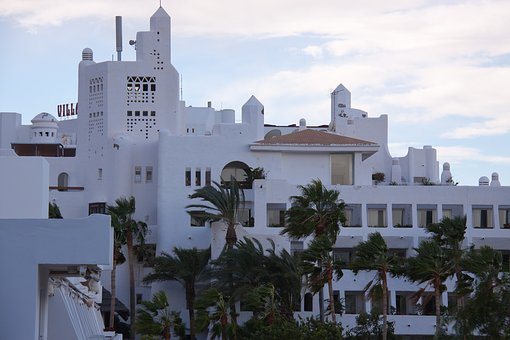 塩で出来たホテル