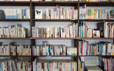 本屋さんの本棚