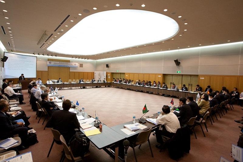 国際会議の模様