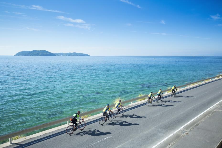 淡路のサイクリングロード