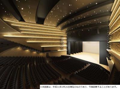 姫路文化コンベンションセンターの大ホール