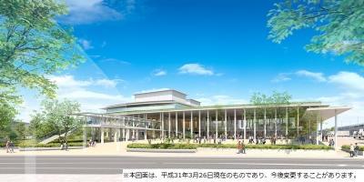 姫路文化コンベンションセンター完成イメージ図