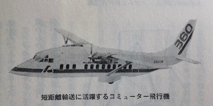 短距離輸送に活躍するコミューター飛行機