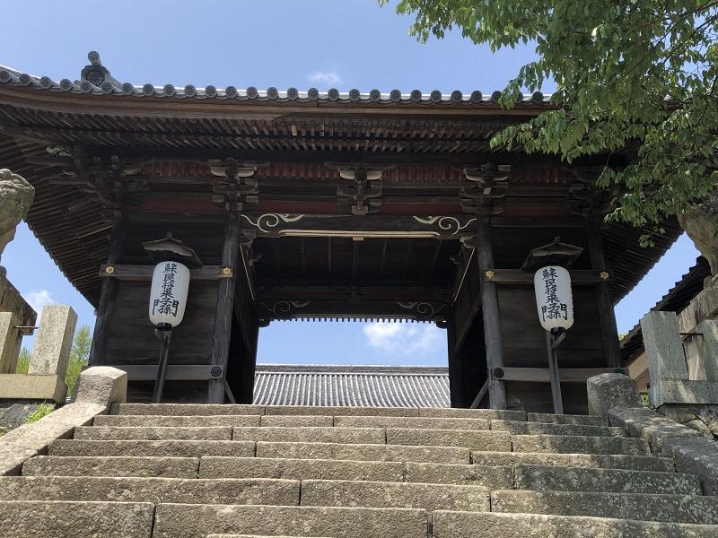 廣峯神社の門