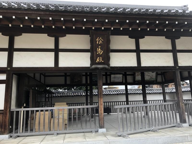 松原神社の絵馬殿