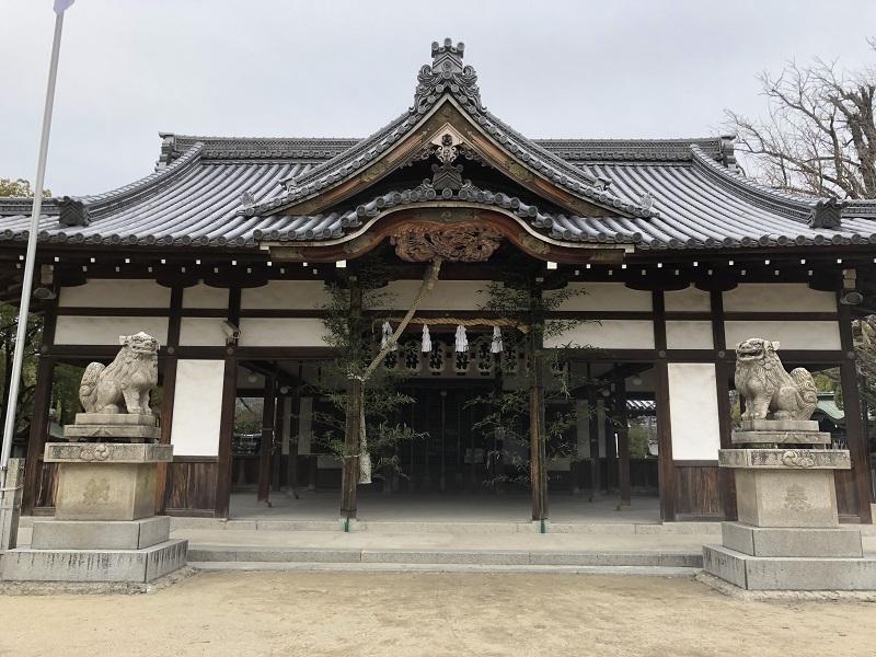 松原神社の本殿