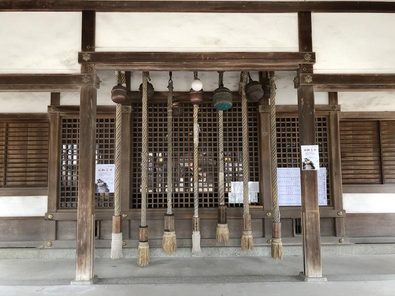 松原神社の鈴