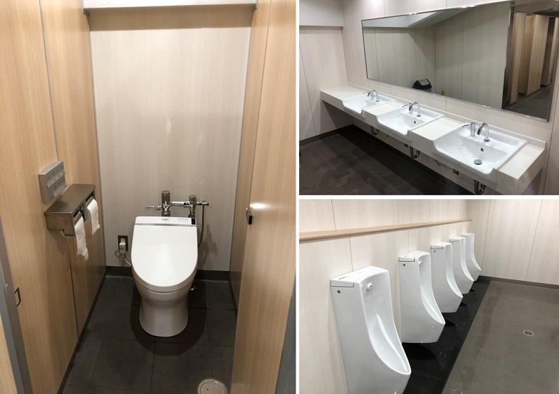 姫路競馬場のトイレ