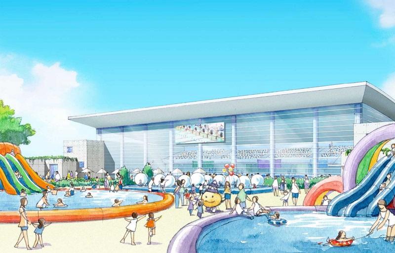 新市民プールのイメージ図
