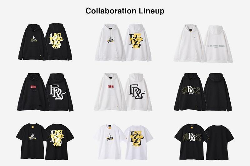 リザードのパーカーとTシャツ 9パターン