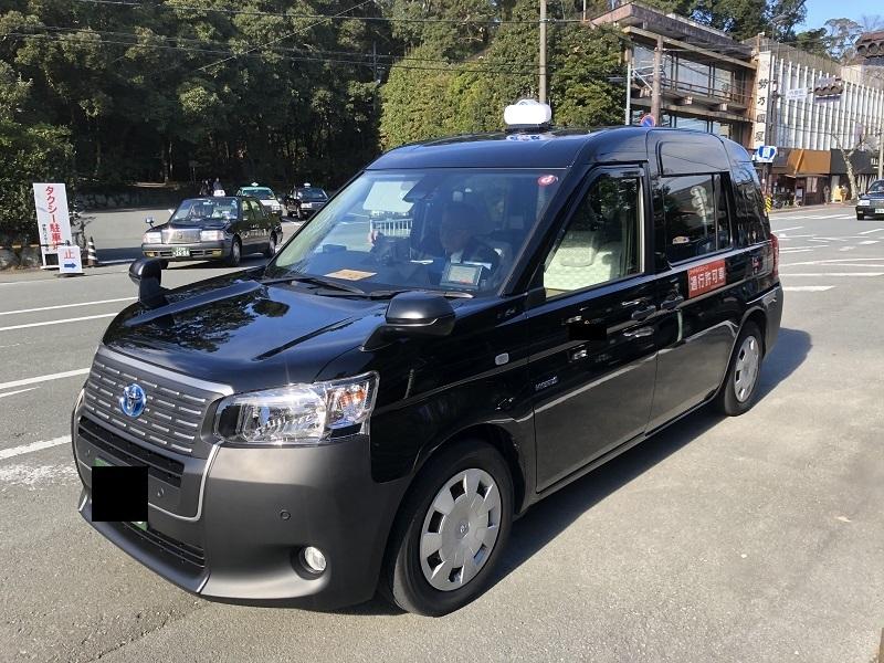 近鉄のジャパンタクシー