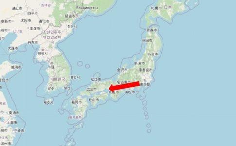 東京から兵庫県加古川へ首都移転