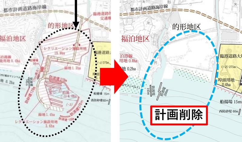 的形地区の計画図