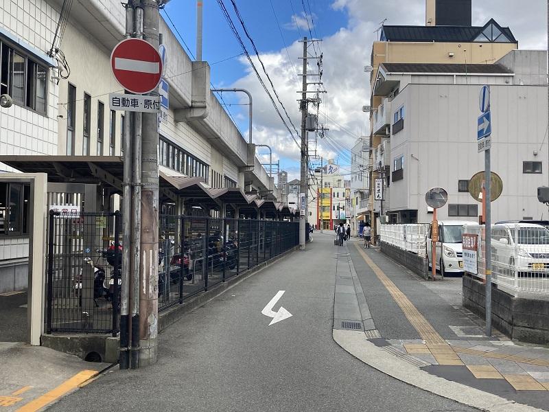 神戸物産本社にアクセスする道