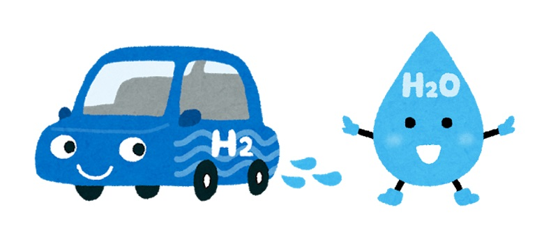 水素自動車と水素
