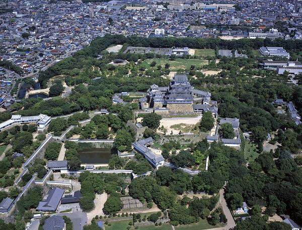 姫路城と城郭