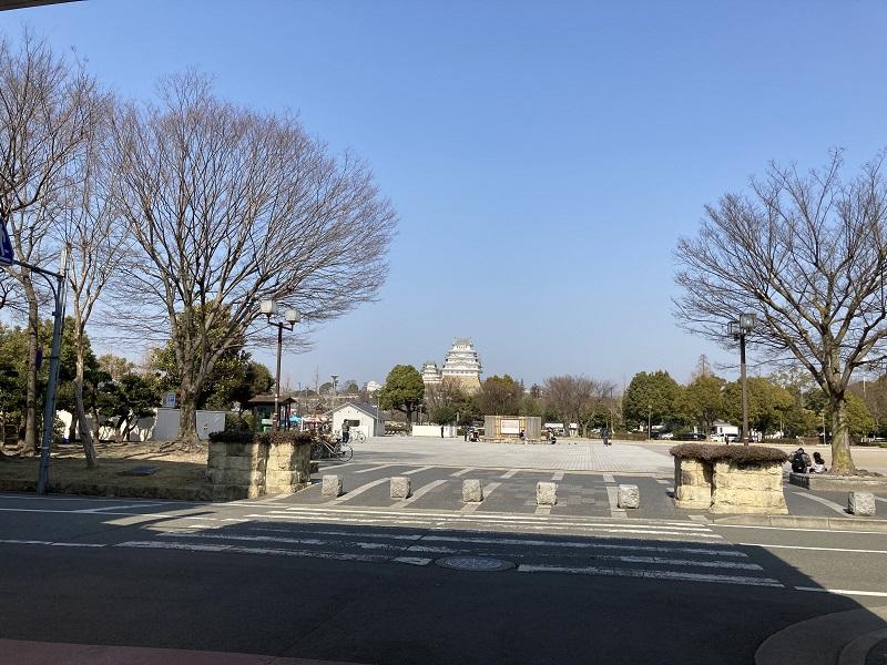 姫路城と大手前公園
