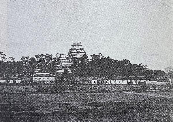 明治時代の姫路城