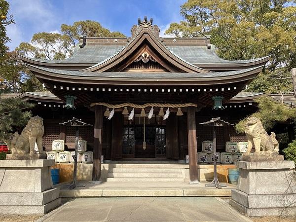 酒井家をまつる姫路神社