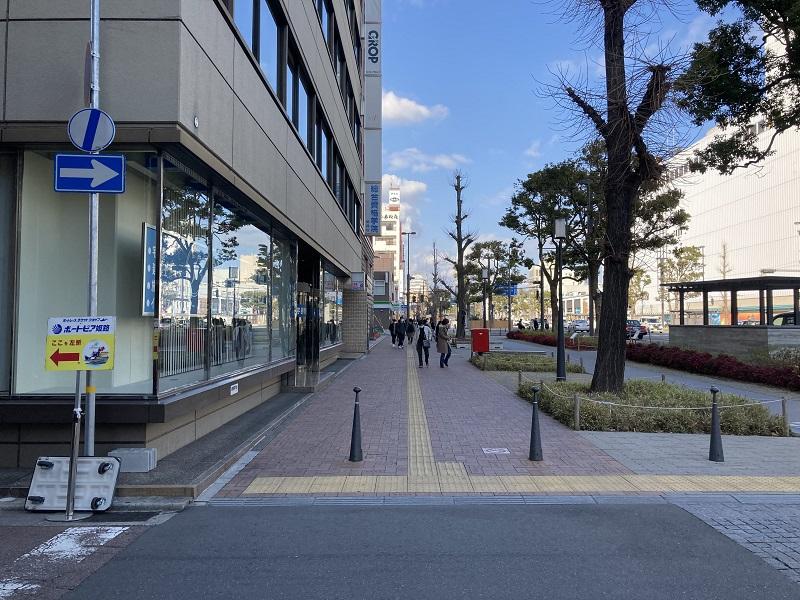 ボートピア姫路の入口
