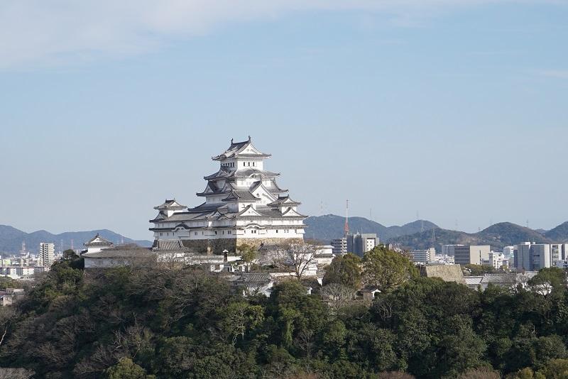 姫路城を撮影
