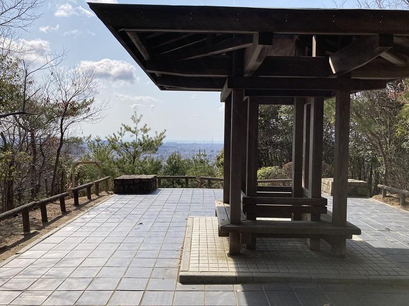 紫雲堂跡 展望広場