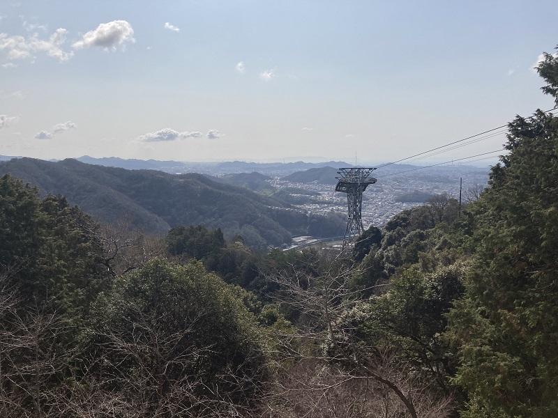 書写山展望台からの景色