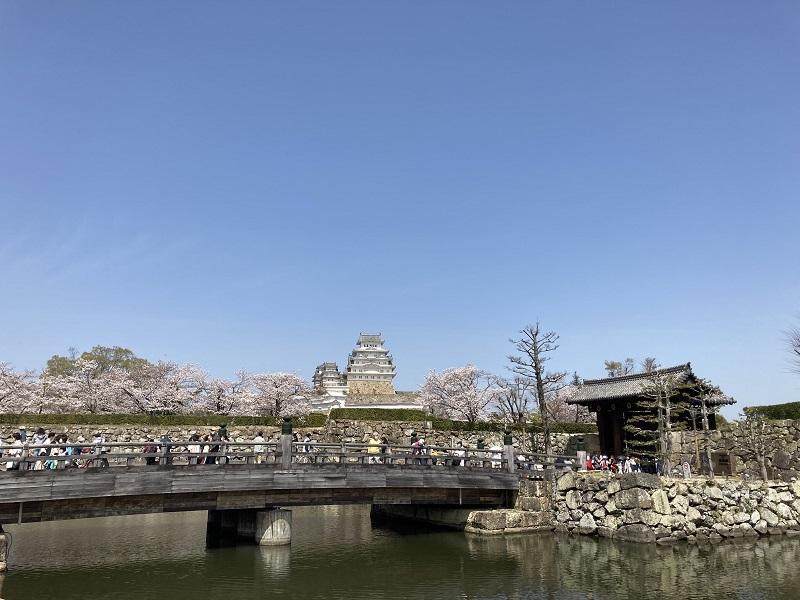 大手門と桜門橋