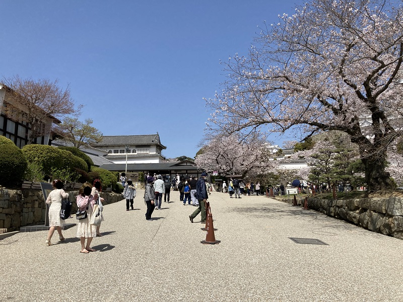 姫路城の入城口