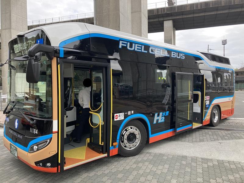 神姫バスの水素バス・燃料電池バス
