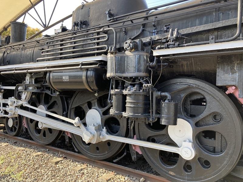 御立公園の鉄道C57
