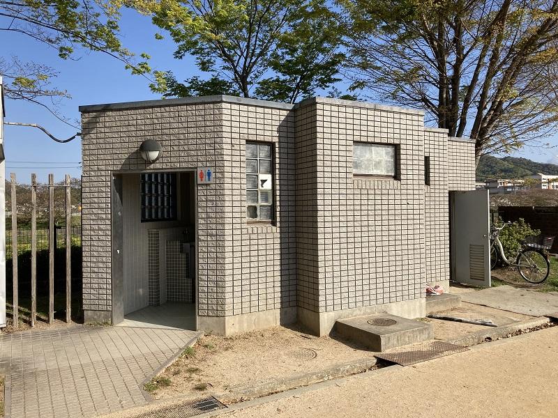 御立公園のトイレ