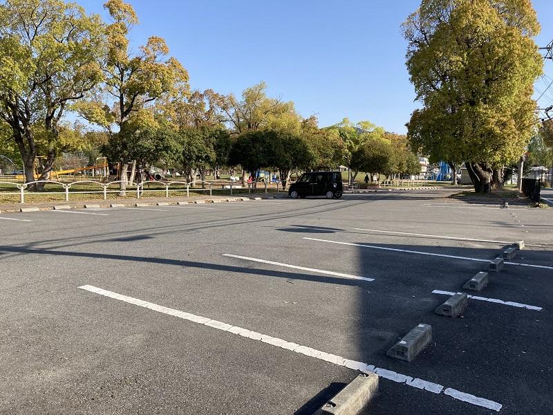 御立公園の駐車場