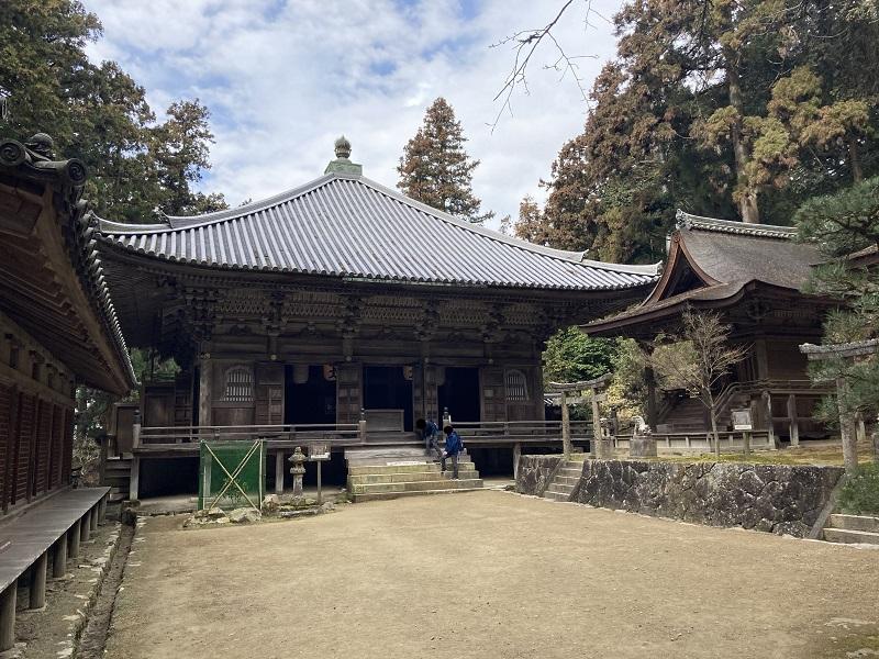 書写山円教寺の開山堂