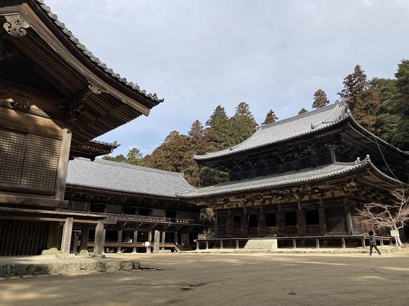 書写山円教寺の三つの堂
