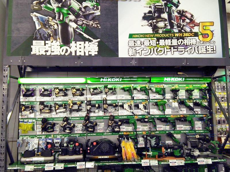 ムサシ姫路店の工作・道具売場