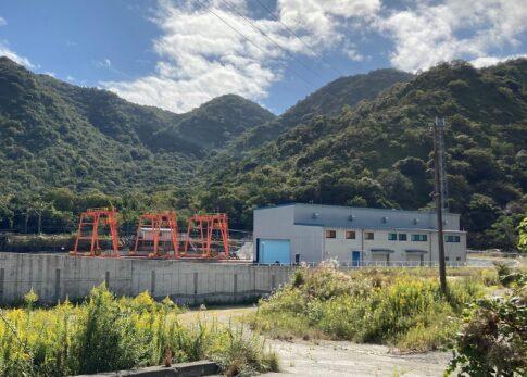 山陽新幹線の帆坂保守基地