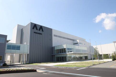 マンダム福崎工場の外観